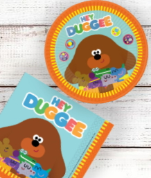 Hey Duggee Party Supplies and Party Decorations plus party Ideas
