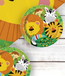 Jungle Animal Party Supplies | Packs | Balloons | Decoration