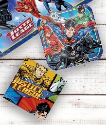 Justice League Party Supplies | Balloons | Decorations | Packs