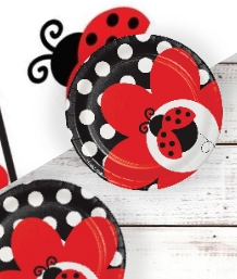 Ladybird Baby Shower Party Supplies | Balloons | Decorations | Packs