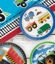 Motor & Vehicle Themed Party Supplies | Ranges | Ideas | Packs