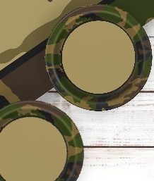 Camouflage Party Supplies | Decorations | Balloons | Packs