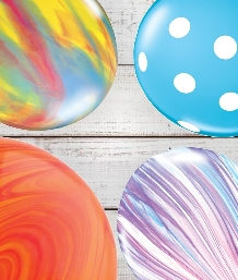 Multi-Coloured Latex Balloons | Party Save Smile