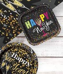 New Year's Eve Themed Party Supplies & Packs | Party Save Smile