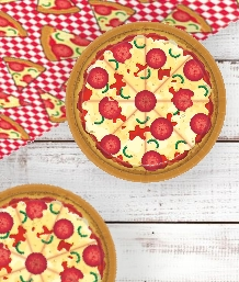 Pizza Themed Party for your Childs Party. Fantastic Tableware, Decorations, Balloons and Party Packs. Free and Next Day UK Delivery options available.