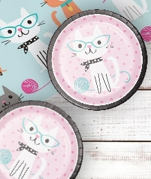 Purrfect Cat Party Supplies | Decorations | Balloons