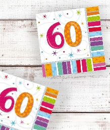 Radiant 60th Birthday Party Supplies | Balloon | Decoration | Pack