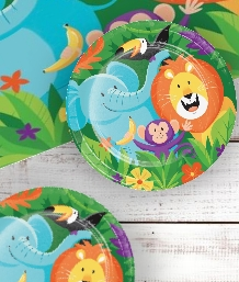 Safari Animal Party Supplies | Decorations | Balloons | Packs