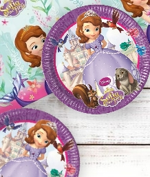 Sofia the First Party Supplies, Balloons, Decorations & Packs