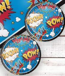 Superhero Cartoon Party Supplies | Balloons | Decorations | Packs