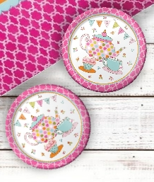 Tea Time Party Supplies | Decorations | Balloons | Packs