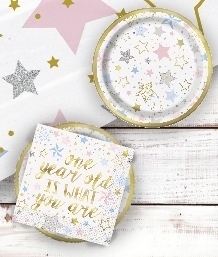 Twinkle Twinkle Little Star 1st Birthday Party Supplies and Ideas