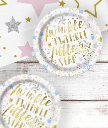 Twinkle Twinkle Little Star Baby Shower Party Supplies and Ideas
