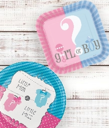 Unisex and Gender Reveal Baby Shower Supplies | Decorations | Balloons | Packs | Ideas