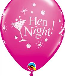 Hen Party Latex Balloons | Party Save Smile