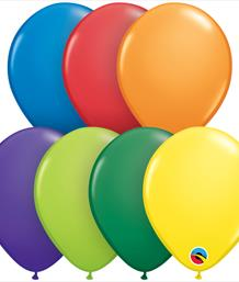 Assorted Coloured Latex Balloons | Party Save Smile
