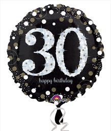 Birthday and Age Milestone Foil Balloons | Party Save Smile