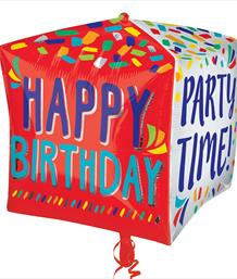 Cube Shaped Greetings and Special Occasions Balloons | Party Save Smile