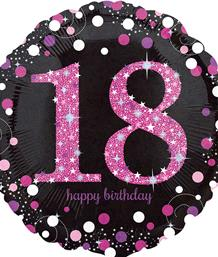 Pink Sparkle 18th Party Supplies | Balloon | Decoration | Pack
