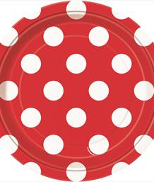 Red Polka Dot Party Supplies & Packs | Party Save Smile