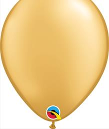 Gold Coloured Latex Balloons | Party Save Smile