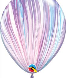 Printed Latex Multi-Coloured Balloons | Party Save Smile