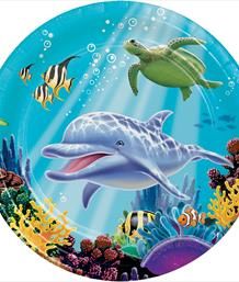 Ocean Dolphin Party Supplies | Balloons | Decorations | Packs