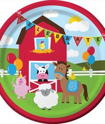 Farm Fun Party Supplies | Decorations | Balloons | Packs