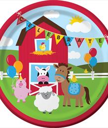 Farm Fun 1st Birthday Party Supplies | Decorations