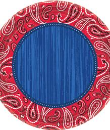 Cowboy Western Bandana Party Supplies | Balloon | Decoration | Pack