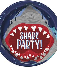 Shark Splash Party Supplies, Decorations & Balloons | Party Save Smile