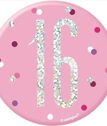 Pink Glitz 16th Birthday Party Supplies | Balloon | Decoration | Pack