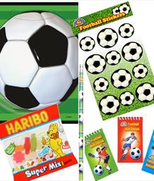Football Pre-Filled Party Bags & Boxes | Party Save Smile
