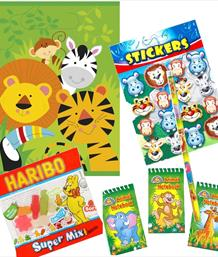 Animal Pre-Filled Party Bags & Boxes | Party Save Smile