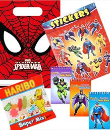 Superhero Pre-Filled Party Bags & Boxes | Party Save Smile