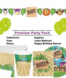 Toddler Premium Party Packs | Tableware and Decoration Kits
