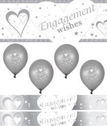 Engagement Balloons & Decorations | Party Save Smile