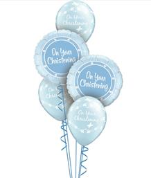 Christening Balloon Bouquets