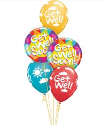 Get Well Soon Balloon Bouquets