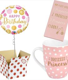 Balloon and Gift Bundle for Her - Party Save Smile