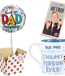 Balloon and Gift Bundle for Him - Party Save Smile