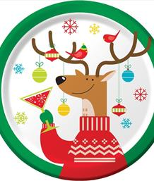 Reindeer Games Christmas Party Supplies & Packs | Party Save Smile