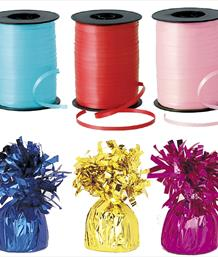 Balloon Weights & Curling Ribbon | Party Save Smile