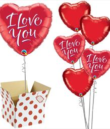 Love & Romance Balloon in a Box | Party Save Smile