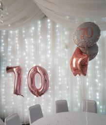 70th Birthday Party, The Jenning's Rooms
