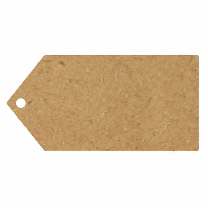 Brown Kraft | Craft Greeting Tags