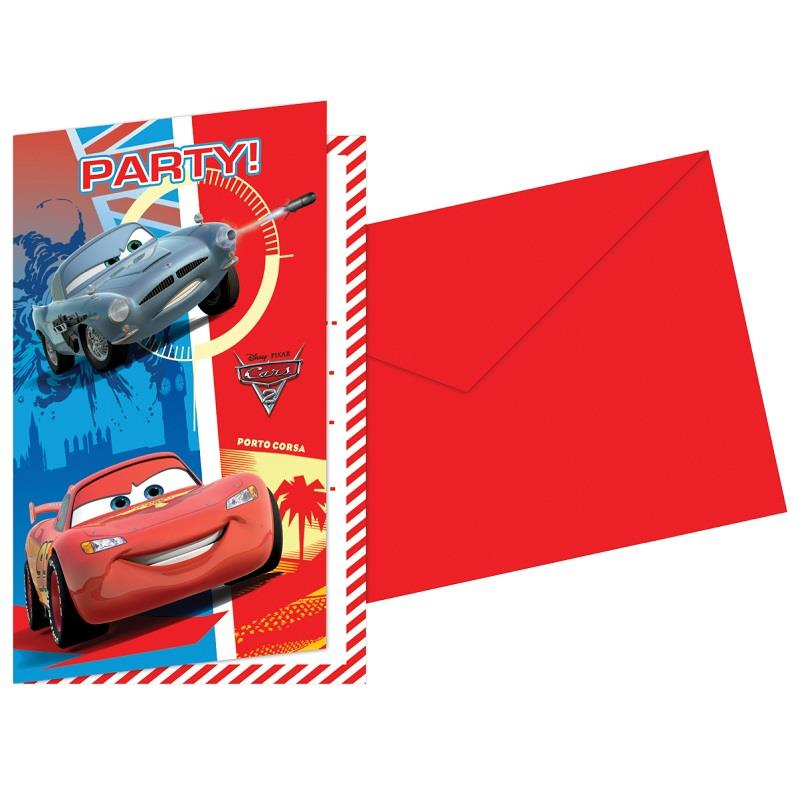 Disney Cars 2 Party Invitations | Invites