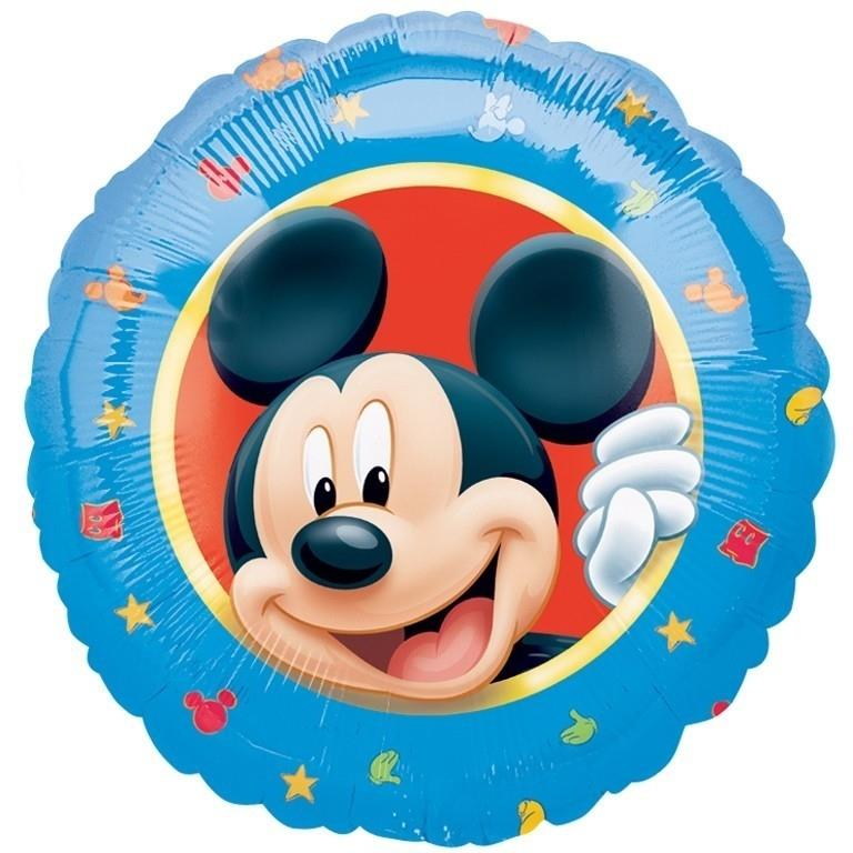 Mickey Mouse Blue Party Foil | Helium Balloon