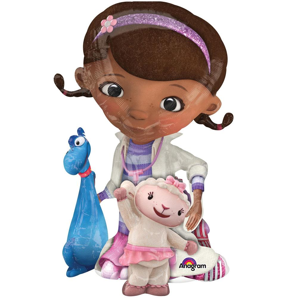 Doc McStuffins 4ft Giant Lifesize Helium Balloon