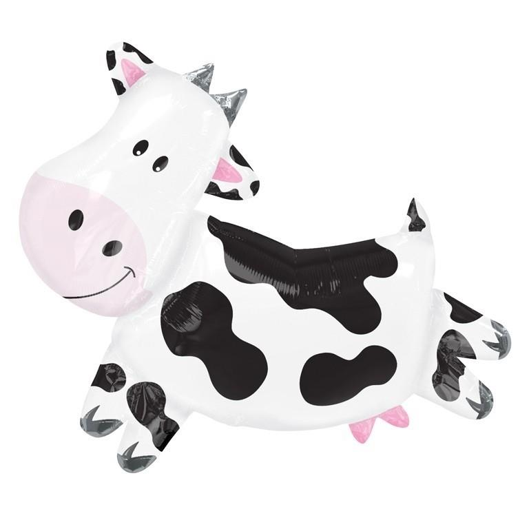 Cow Shaped Foil | Helium Balloon